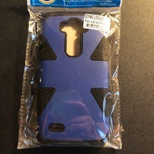LG Flex 2 Phone Case NEW Blue/Black
